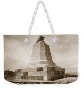 Sloat Monument On The Presidio Of Monterey Circa 1910 Weekender Tote Bag