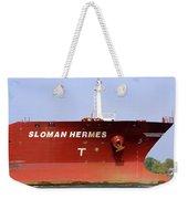 Sloman Hermes Detail 051718 Weekender Tote Bag