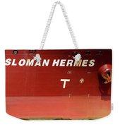 Sloman Hermes Detail With Anchor 051718 Weekender Tote Bag