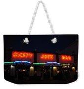 Sloppy Joes By Night Weekender Tote Bag