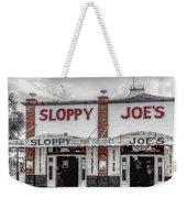 Sloppy Joe's Saloon- Key West Weekender Tote Bag