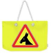 Sloshing Bigstock Donkey 171252860 Weekender Tote Bag