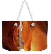 Slot Canyon Light Weekender Tote Bag