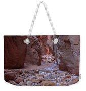 Slot Canyon Reflections Weekender Tote Bag