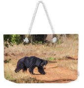 Sloth Bear Melursus Ursinus Weekender Tote Bag