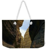 Slot Canyon Within The Tent Rocks Weekender Tote Bag