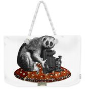 Slow Loris With Antique Camera Weekender Tote Bag