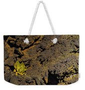 Small Aloe In Lava Flow Weekender Tote Bag