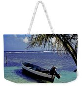 Small Boat Belize Weekender Tote Bag