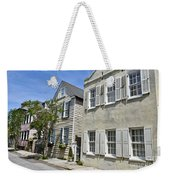 Small Colonial Style Homes Weekender Tote Bag