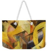 Small Composition I 1913 Weekender Tote Bag