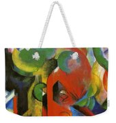 Small Composition IIi Weekender Tote Bag
