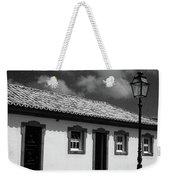 Small Cottage Weekender Tote Bag