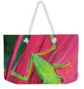 Small Frog Weekender Tote Bag