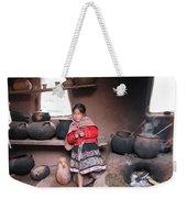 Small Girl Weekender Tote Bag