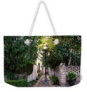 Small Lane In Charleston Weekender Tote Bag