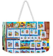 Small Paintings For Sale In La Boca Area Of Buenos Aires-argentina  Weekender Tote Bag