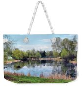 Small Pond In Tomilino Weekender Tote Bag