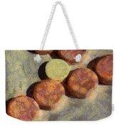 Small Round Stones Weekender Tote Bag