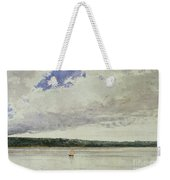 Small Sloop On Saco Bay Weekender Tote Bag