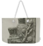 Small Stone Fountain Weekender Tote Bag