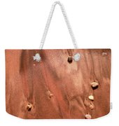 Small Stones And Sand Two  Weekender Tote Bag