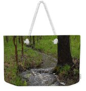 Small Stream In The Woods Weekender Tote Bag