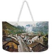 Small Town Ecuador Weekender Tote Bag