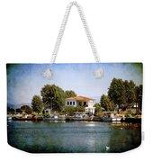 Small Town In Greece Weekender Tote Bag