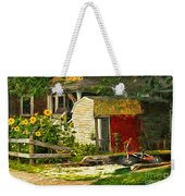 Small Town Life Weekender Tote Bag