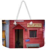 Small Town Post Office Weekender Tote Bag