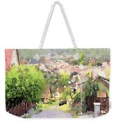 Small Town Scape Weekender Tote Bag