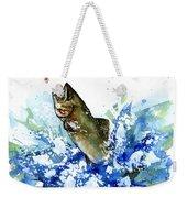 Smallmouth Bass Weekender Tote Bag