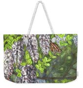 Smell The Moutain Laurel Weekender Tote Bag