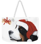 Smile Its Christmas Weekender Tote Bag