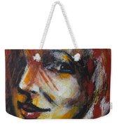 Smile - Portrait Of A Woman Weekender Tote Bag