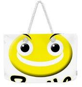 Smile T-shirt Weekender Tote Bag