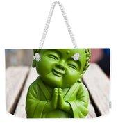 Smiley Buddha Weekender Tote Bag