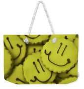 Smiley Face Weekender Tote Bag
