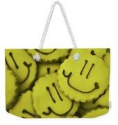 Smiley Face Weekender Tote Bag