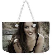 Smiling Beauty Weekender Tote Bag