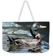 Smiling Duck Weekender Tote Bag