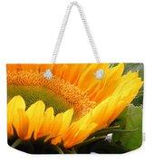 Smiling Flower Weekender Tote Bag