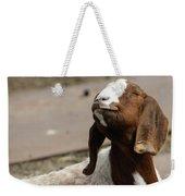 Smiling Goat  Weekender Tote Bag