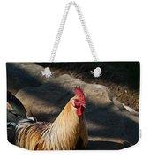 Smiling Rooster Weekender Tote Bag