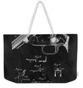 Smith And Wesson Model 3 Patent Weekender Tote Bag