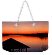Smith Mountain Sunset Weekender Tote Bag