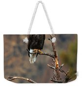 Smith Rock Bald Eagle Weekender Tote Bag