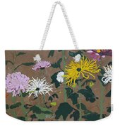 Smith's Giant Chrysanthemums Weekender Tote Bag