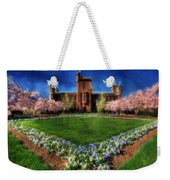 Spring Blooms In The Smithsonian Castle Garden Weekender Tote Bag